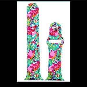Flamingo Apple Watch band Lilly Print